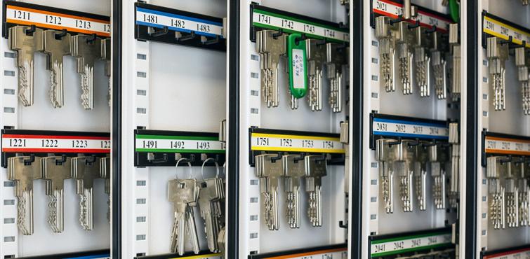 Schlüsselmanagement - Goelzner Sicherheitstechnik in Düsseldorf