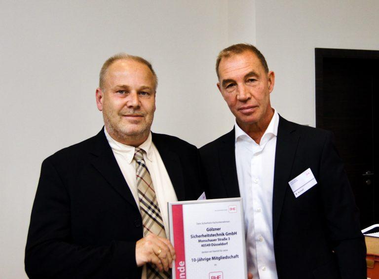 Frank Gölzner und Thorsten Knopf - Goelzner Sicherheitstechnik in Düsseldorf